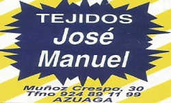 TEJIDOS JOSE MANUEL