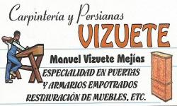 CARPINTERÍA Y PERSIANAS VIZUETE