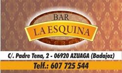 CAFÉ - BAR LA ESQUINA